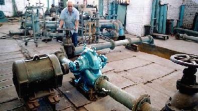 Pump npsh test procedure